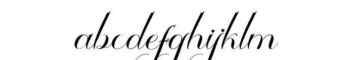 Thamron Font LOWERCASE