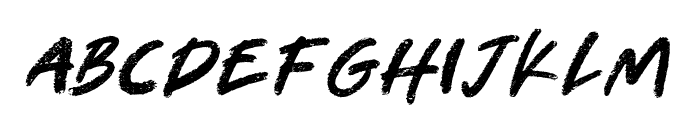 Tharon-Regular Font LOWERCASE