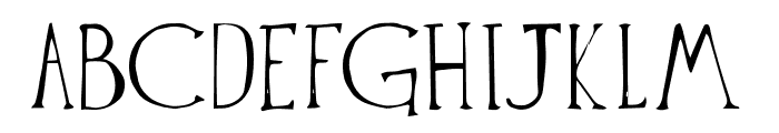 The Anomali Font UPPERCASE