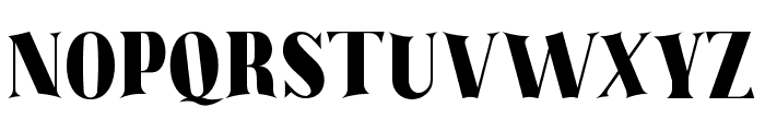 The Barista Regular Font UPPERCASE