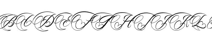 The Bellinda Font UPPERCASE