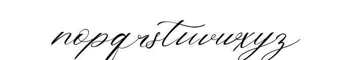 The Bellinda Font LOWERCASE
