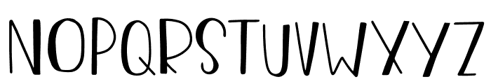 The Chaplin Font UPPERCASE