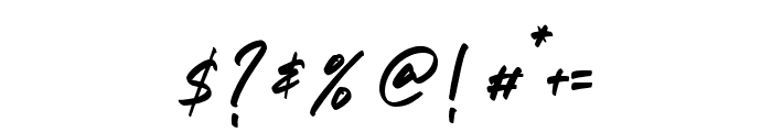 The Chromert Font OTHER CHARS