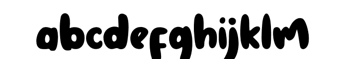 The Coconut Monkey Font LOWERCASE