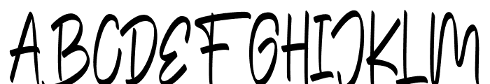 The Edensick Font UPPERCASE