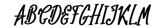 The Generationn Font UPPERCASE