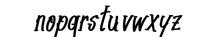 The Generationn Font LOWERCASE