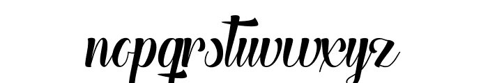 The Heart of Everything Font LOWERCASE