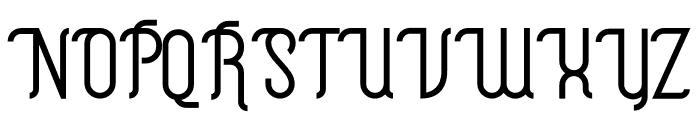 The Hotelio Font UPPERCASE