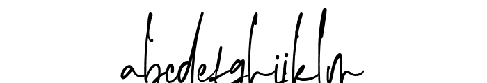 The Imaginations Font LOWERCASE