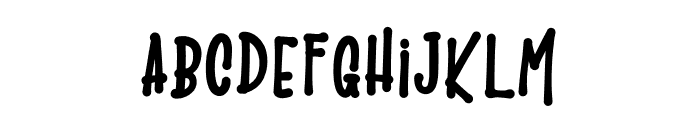 The LaMonTruSH Font LOWERCASE