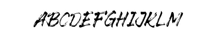 The Senom Font UPPERCASE