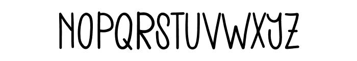 The Stellar Font UPPERCASE