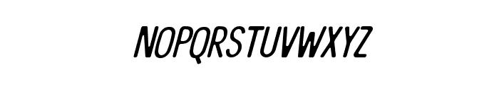 TheBangles-Italic Font LOWERCASE