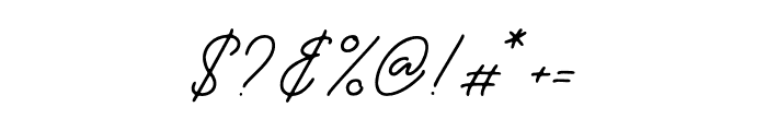 TheCatalonyRegular Font OTHER CHARS