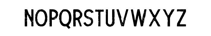 TheDodgerRough Font UPPERCASE