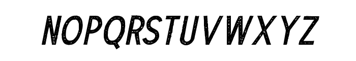 TheDodgerStamp-Italic Font LOWERCASE