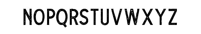 TheDodgerStamp Font UPPERCASE