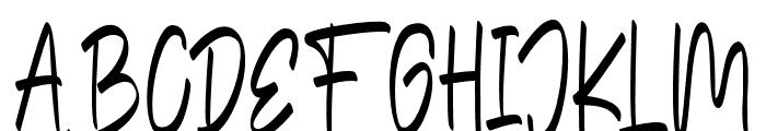TheEdensick Font UPPERCASE