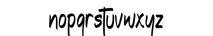 TheEdensick Font LOWERCASE
