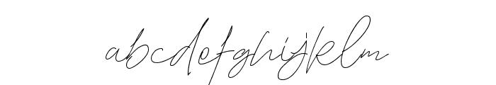 TheGoodStuff Font LOWERCASE