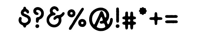 TheGreatOutdoors-Rough-Regular Font OTHER CHARS