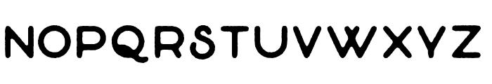 TheGreatOutdoors-Rough-Regular Font LOWERCASE