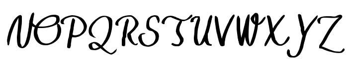TheHarmony Font UPPERCASE
