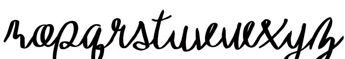 TheHarmony Font LOWERCASE