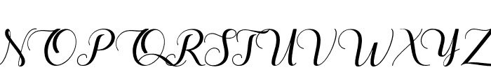 TheHeartofEverything Font UPPERCASE