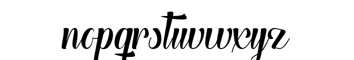 TheHeartofEverything Font LOWERCASE