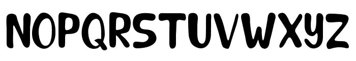 TheJustinRomanceSans Font UPPERCASE