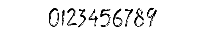 TheRedlightLine Font OTHER CHARS