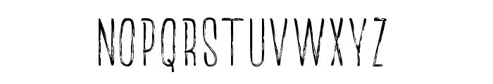 TheRedlightLine Font UPPERCASE