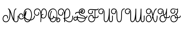 TheRevolution Font UPPERCASE