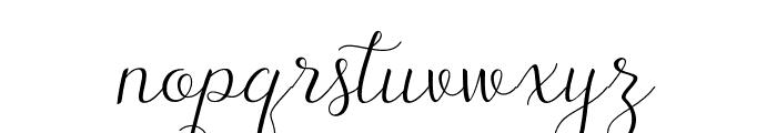 TheRusticScript Font LOWERCASE