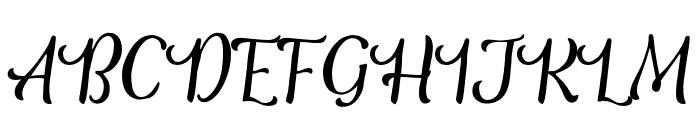 TheSalvadorScript-Script Font UPPERCASE