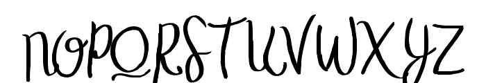 TheStopped-ExtraLight Font UPPERCASE