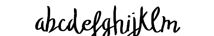 TheStopped-Light Font LOWERCASE