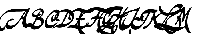 Theodore Bagwell Font UPPERCASE