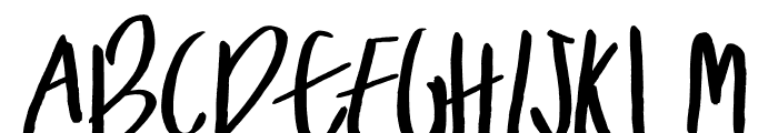 Theodore Font UPPERCASE