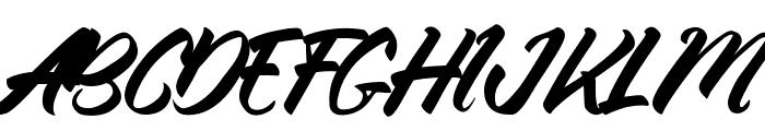Thinkshare Script Font UPPERCASE