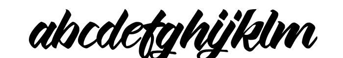 Thinkshare Script Font LOWERCASE