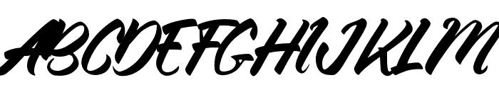 ThinkshareScript Font UPPERCASE