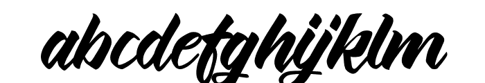 ThinkshareScript Font LOWERCASE