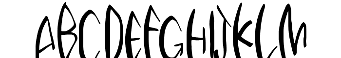 Third Storey Marker Font UPPERCASE