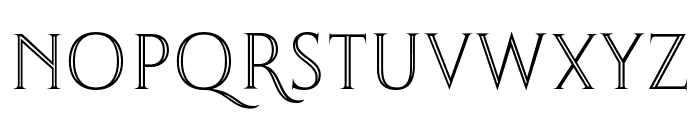 Thirsk Carved Font UPPERCASE