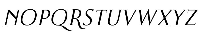 Thirsk Italic Font UPPERCASE