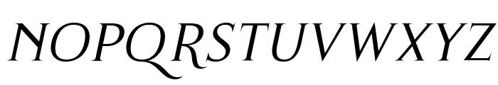 Thirsk Italic Font LOWERCASE